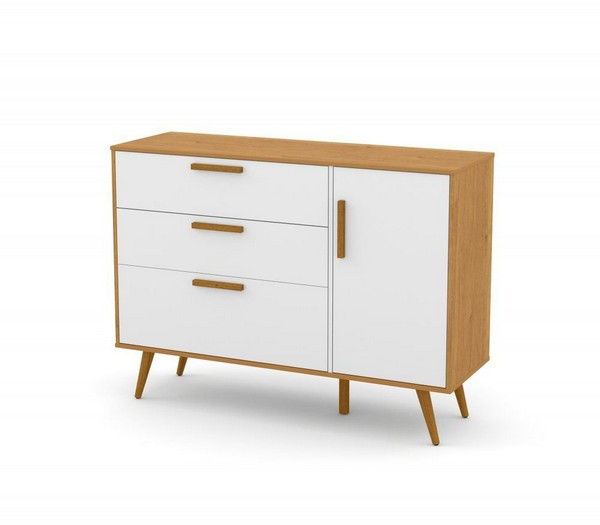 Cômoda Retrô Com Porta – Eco Wood