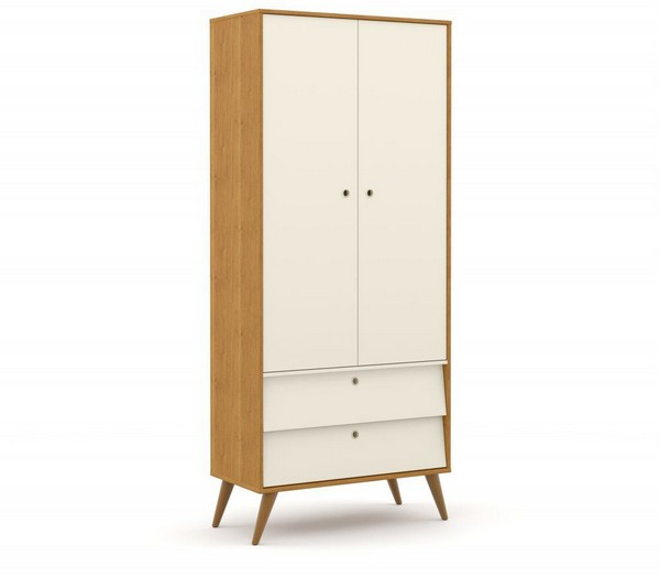 Roupeiro 2 Portas Gold - Eco Wood